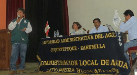 ANA participa elección comités electoral e impugnación organizaciones usuarios