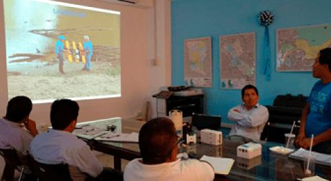 ANA capacita medición caudales y parámetros hidráulicos río Ucayali