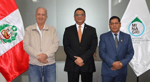Minagri y gobiernos regionales Ica y Huancavelica logran importante acuerdo gestión