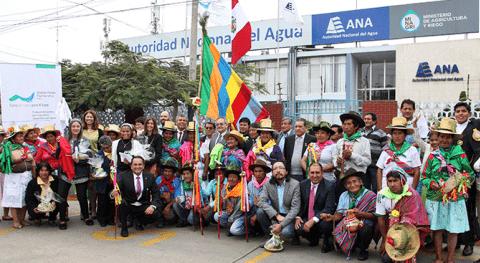 ANA entrega 86 licencias usuarios agua poblacional y agrario cuenca río Rímac