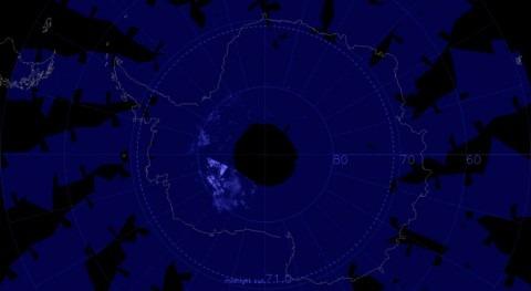 nubes noctilucentes hielo reaparecen Antártida