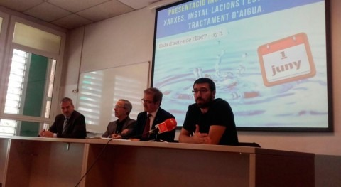 Presentado Granollers nuevo ciclo FP Dual agua Escuela Agua