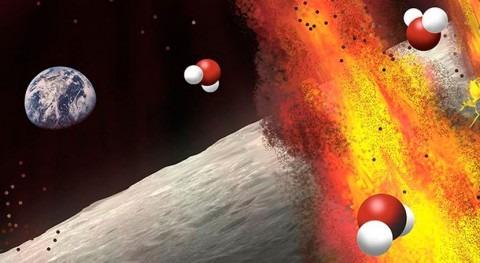 Halladas nuevas evidencias presencia agua Luna