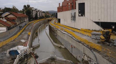 nuevo cauce río Gobela Errekagane estará terminado finales año