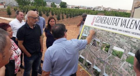 Finalizadas obras 6 kilómetros encauzamiento Barranco Puçol y Puig