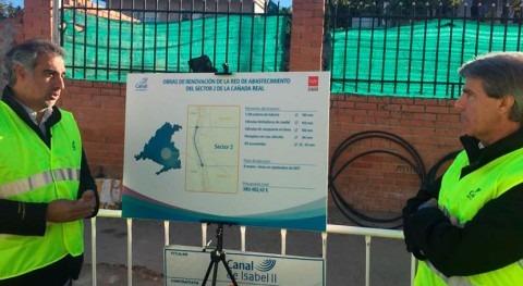 Canal Isabel II regularizará acceso al agua potable 311 viviendas Cañada Real