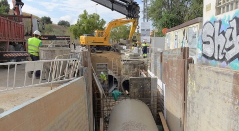 Canal Isabel II ejecuta nuevo colector que evitará futuras inundaciones Valdemoro