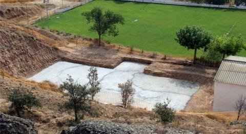 Comienzan obras construcción depósito municipal Zaidín Huesca