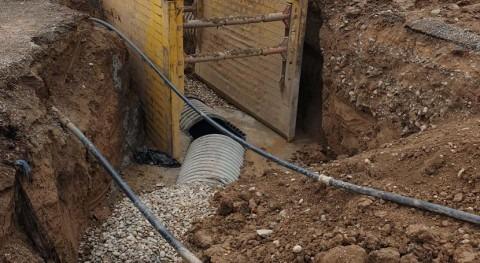 Comienzan obras reducir infiltraciones riego depuradora Alcarràs (Lleida)
