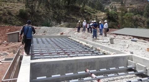 obras saneamiento Huancaray, Perú, podrían estar listas finales septiembre