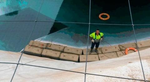 Gran canaria finaliza impermeabilización presa Conde, más antiguas