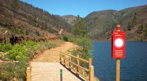 Se amplía rehabilitación Camino Natural río Rivera Acebo Cáceres