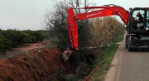 Gobierno valenciano reanuda recubrimiento acequia Sollana Algemesí 6 años