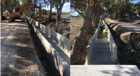 CHE trabaja mejora ambiental infraestructuras Delta Ebro, Tarragona