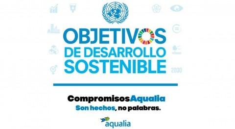 Aqualia pone marcha campaña explicar compromiso real ODS