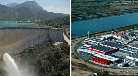 gestión agua cuencas internas catalanas: recolectores productores
