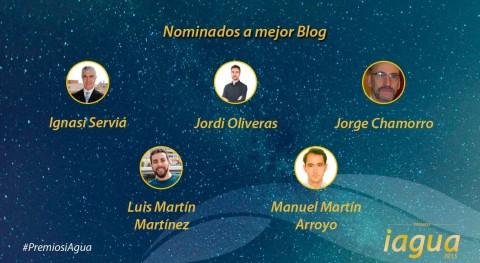 Premios iAgua: Ellos tienen claves crear blog éxito