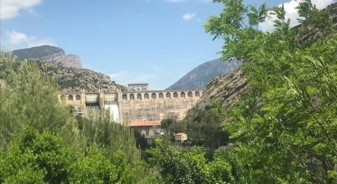 Maniobras desembalse mejorar dinámica fluvial Segre y Ebro