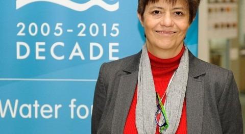 Blanca Jiménez, vicepresidente de ONU-Agua.