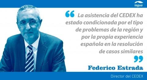 apoyo CEDEX administración agua América Latina