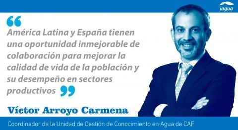 agua, puente cooperación hispanoamericana