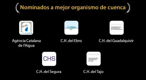 Nominados a Mejor Organismo de Cuenca en Premios iAgua 2014