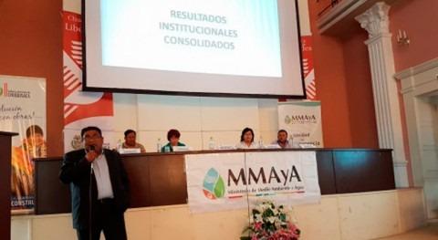 Gobierno boliviano informa Rendición Cuentas Final 2017 Sucre