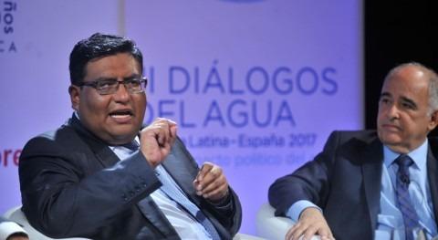 """Carlos Ortuño: """"Bolivia avanza cobertura total agua potable y producción riego"""""""