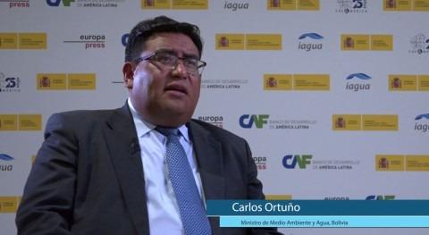 """Carlos Ortuño: """" población rural Bolivia es muy dependiente agua producción"""""""