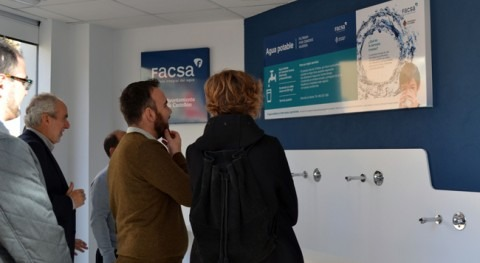 Ayuntamiento Castellón y FACSA presentan séptima fuente pública agua osmotizada