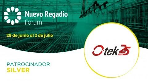 O-tek, tecnología soluciones infraestructuras, Silver Sponsor Nuevo Regadío Forum