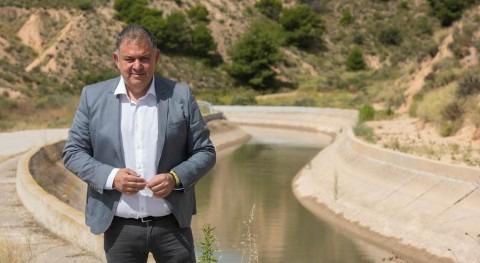 """"""" nueva normalidad, presencia vertebradora y solidaria trasvase será decisiva"""""""