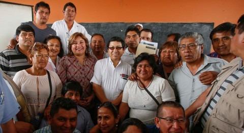 proyecto agua y saneamiento beneficiará más 133.000 habitantes Pachacútec Perú