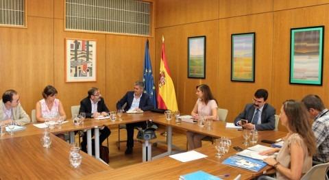 Encuentro Gobierno Aragón marco debate Pacto Nacional Agua