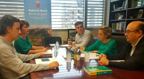 trasvase Tajo-Segura, clave Pacto Regional Agua Murcia