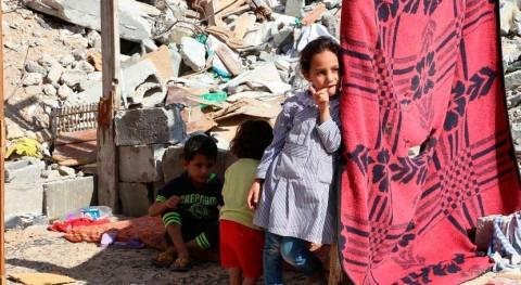mujeres palestinas: sector más afectado escasez agua