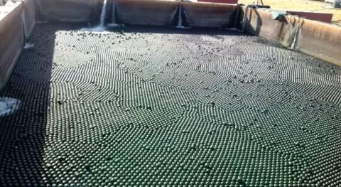 SUEZ instala primer sistema reducir evaporación agua embalses industriales