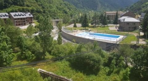 Confederación Hidrográfica Ebro concluye acondicionamiento río Cinca, Bielsa
