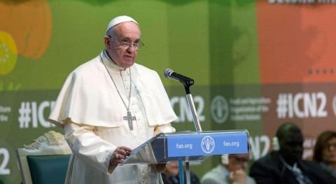 Papa Francisco ayuda donación población África oriental afectada sequía