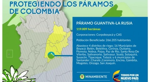 Colombia delimita páramo Guantiva- Rusia