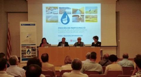 Realizada segunda sesión participación definir planificación hidrológica catalana