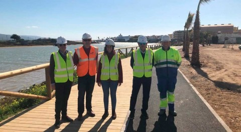 Aqualia recupera paseo fluvial Barbate, Cádiz, ciudadanos
