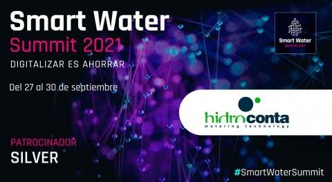 Hidroconta será Silver Sponsor Smart Water Summit 2021