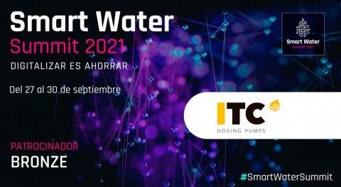 ITC Dosing Pumps será Bronze Sponsor Smart Water Summit 2021