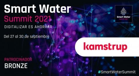 Kamstrup será Bronze Sponsor Smart Water Summit 2021