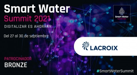 LACROIX será Bronze Sponsor Smart Water Summit 2021
