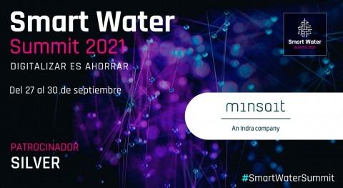 Minsait será Silver Sponsor Smart Water Summit 2021