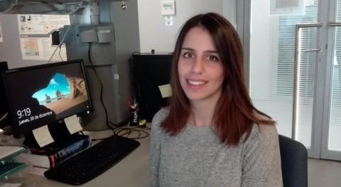 """Patricia Ruiz: """"Compostar fango contenido biomasa algal tiene gran valor agronómico"""""""