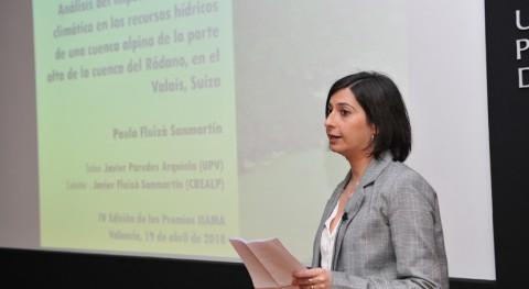 """Paula Fluixà: """" planes hidrológicos deben adaptarse forma realista al cambio climático"""""""