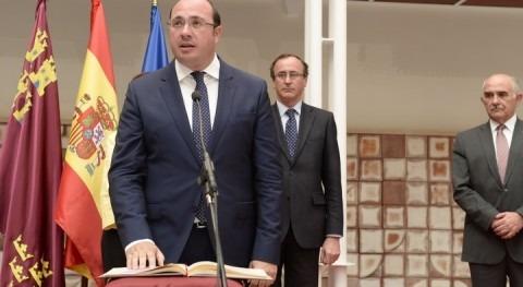 """Pedro Antonio Sánchez: """"Nadie puede trocear ríos que son todos españoles"""""""